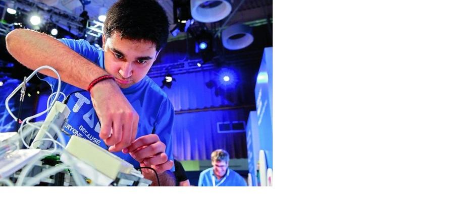 Un adolescent invente un appareil traducteur audio du souffle - Traductanet